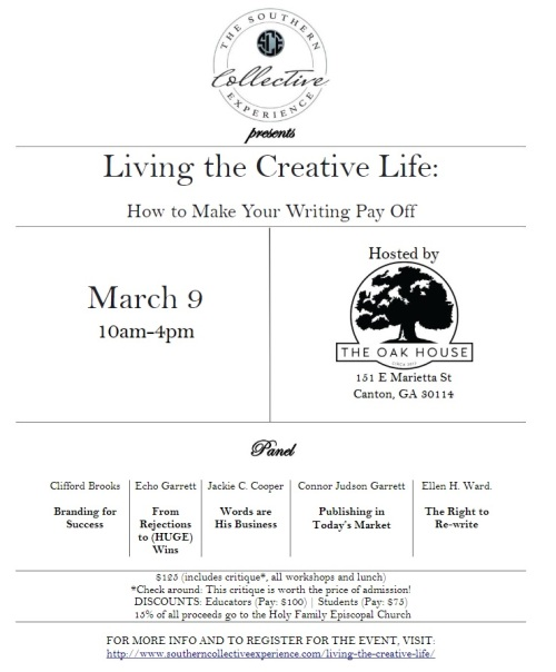 LivingTheCreativeLife_Flyer