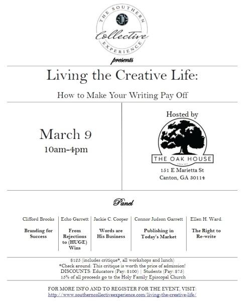 LivingTheCreativeLife_Flyer
