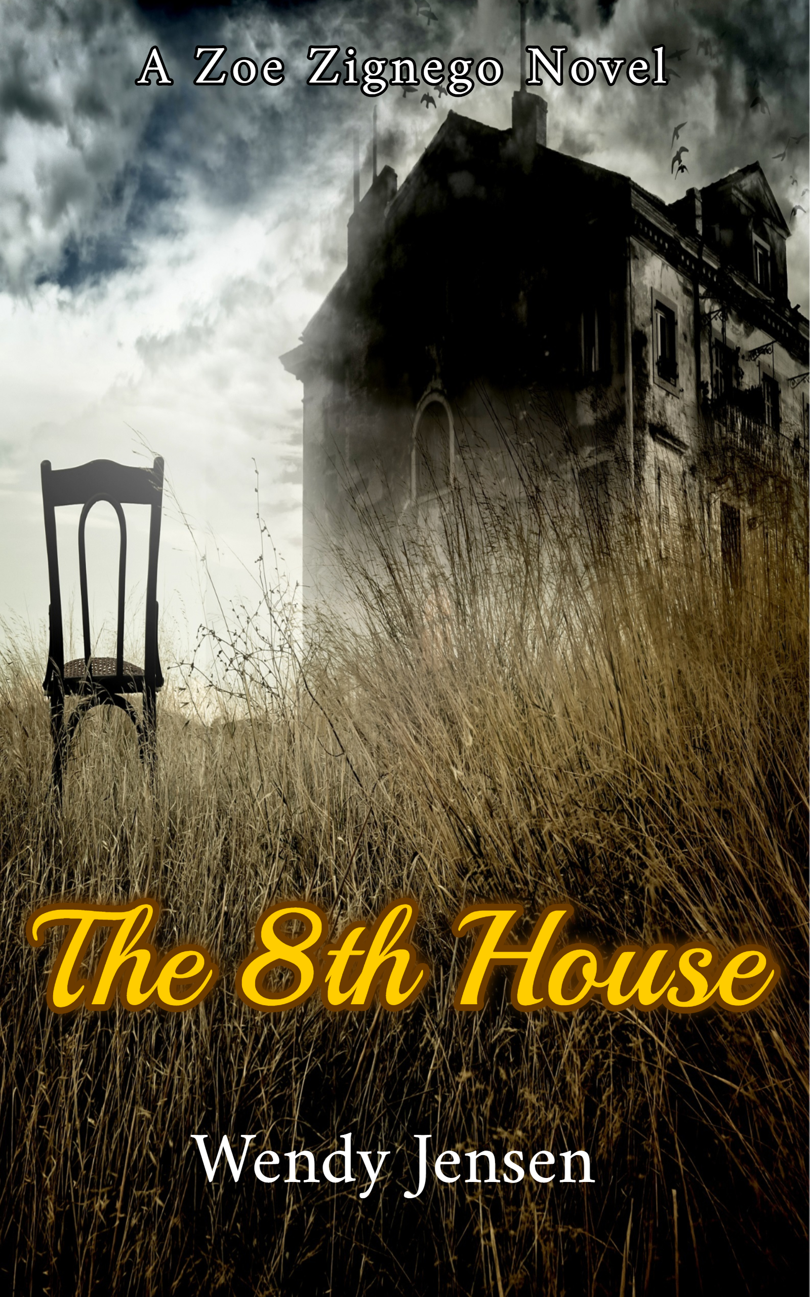 8th House Ebook cover 2nd
