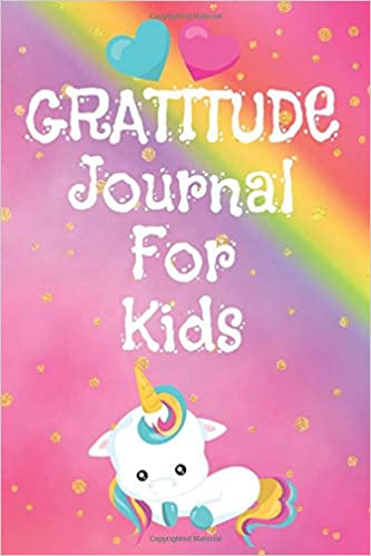 Gratitude Journal for kids front pic